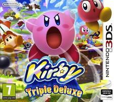KIRBY: TRIPLE DELUXE PER NINTENDO 3DS NUOVO +SPEDIZIONE DIRETTA DA NEGOZIO
