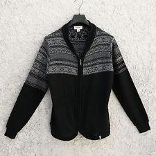 Diesel Inside-Out/Reversible? Zipper Cardigan Sweater (Size M)