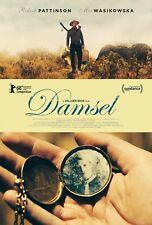 Damsel Movie Poster (24x36) - Robert Pattinson, Mia Wasikowska, David Zellner