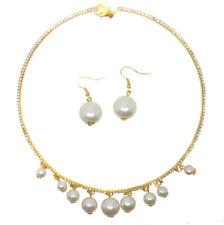 Pearl Alloy Beauty Costume Necklaces & Pendants