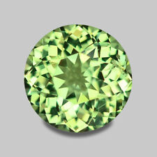 1.21CTS SPARKLING LUSTER ROUND CUT NATURAL GREEN CHRYSOBERYL VIDEO IN DESCRIPTIO