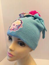 Disney Frozen Elsa Winter Beane Hat & Gloves Set One Size Nwt