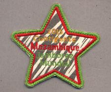 23rd world scout jamboree MOZAMBIQUE Contingent Badge 2015