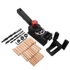 38pcs/Kit DIY Woodworking Locator Pocket Hole Cutter Drill Guide Wood Tenon Set