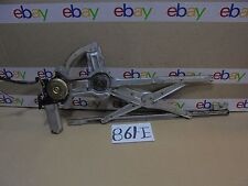 90 91 92 93 Accord 4 Door FRONT PASSENGER Side Window Regulator W/ Motor #861-E