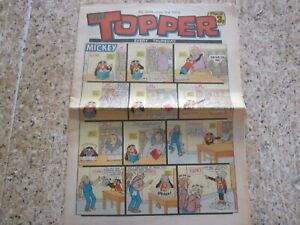 June 3rd 1972, TOPPER, Whizzers From Planet Ozz, Beryl the Peril, Danny's Tranny