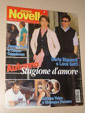 NOVELLA=2001/39=DARIA BIGNARDI=DARIO ARGENTO=ENRICO LUCCI=ROMINA POWER YARI=