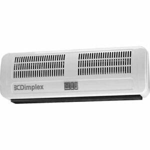 Dimplex AC3N 3kW Remote Electric Over Door Space Fan Heater Adjustable Air Flow