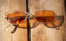KRASS Optik Sonnenbrille mit Amber Tönung