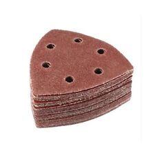 10 Pcs Pcs 90mm Red For Sanding Delta Sand Paper Sanding Paper Abrasive Tools