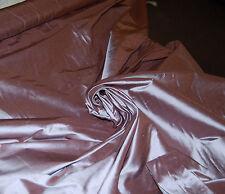 "54"" Wide 100% Silk Shantung Dupioni Fabric Light Fig Mauve Lilac Lavender BTY"