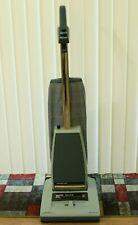 Hoover Heavy Duty Power Drive Quadraflex Concept One Blue Upright Vacuum Cleaner