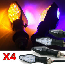 4X 12 LED Turn Signal Light Universal Type Motorcycle 3 wire Connection 12V