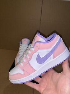 Nike Air Jordan 1 Low SE Arctic Punch Easter Pink 4-7 CV9844-600 GS