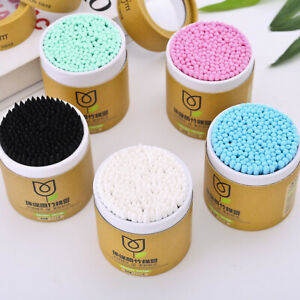 NEW Colorfully Cotton Buds Ear Baby Soft Make Up Applicator ENVIRONMENT Friendly