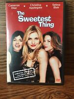 The Sweetest Thing Unrated (DVD) Disc NM Cameron Diaz Christina Applegate