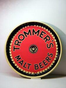"TROMMER'S MALT BEERS, Beer Serving Tray 13 1/8"""