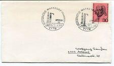 1970 Markdorf LSG Ikarus Astrophilatelie Sammlertreffen Deutsche Bundespost NASA