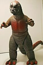 "Vintage 1986 Dor Mei Large 13.5"" Godzilla Jointed Monster Figure Rare Retro."