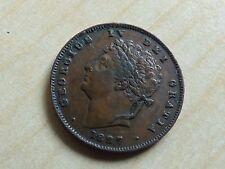George IV 1/3 Third Farthing 1827 (myrefn12342)