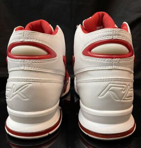 REEBOK Vintage Dmx Micro Sz 11 Red Iverson 76ers Og Question Answer Lot Rare