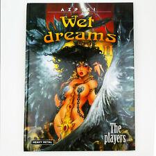 Azpiri WET DREAMS II Hardcover Erotic graphic novel HEAVY METAL MAGAZINE comic 2