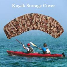 Camouflage Waterproof UV Protection Kayak Boat Cover Accessories 2.7-3Meter J1K7