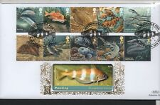 GB 2014 Benhams Gold FDC Sustainable Fish Ross-On-Wye postmark stamps