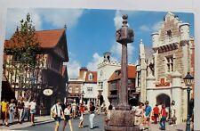 Walt Disney World Epcot Center United Kingdom World Showcase Postcard Old View