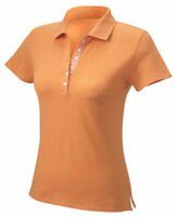 Hyp Sportswear Women's 100% Cotton Short Sleeve Pique Polo Shirt. HY123