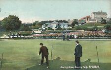 POSTCARD   BRADFORD   Bowling Green  Bowling  Park