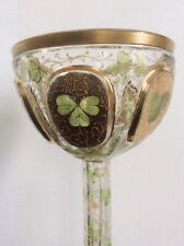 Coupe Calice Verre Emaillé - Art nouveau Arts And Crafts Antique Glass +++
