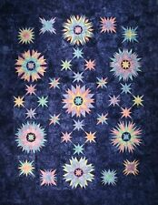 "Starr Designs Winter Solstice Quilt Kit 82"" X 106"" Hand Dyed Cotton Fabrics"