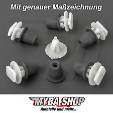 10x DOOR MOULDINGS Brackets Mounting Clips for Opel Astra Zafira | 90481595