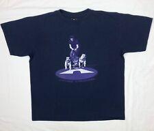 Vtg 90s Airwalk Skatebording Canine Crusing Mens XL Navy Blue S/S T-Shirt B6