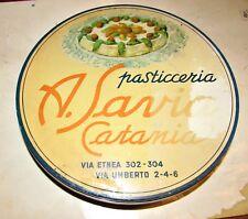 Savia pasticceria  scatola di latta Catania