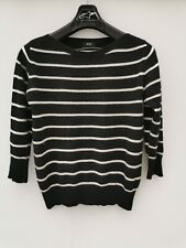 F&F Pure Cashmere Ladies Jumper Size 12 Medium M Womens Sweater Top