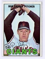 1967 Topps #26 Bob Priddy San Francisco Giants Baseball Card