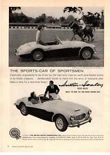 1959 Austin Healey 100-Six BMC Blind Brook Polo Club Purchase New York Print Ad