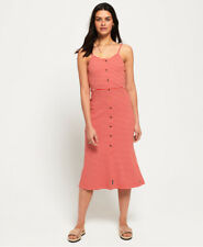 Superdry Womens Charlotte Button Down Midi Dress