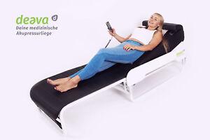 MassageLiege hi-end 2020 Akupressur Physiotherapie 12+2 Modi Jadesteine Infrarot