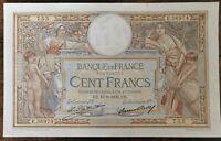 Billet 100 francs LUC OLIVIER MERSON 15 = 9 = 1932 FRANCE E.36974