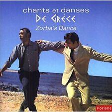 VACANCES EN GRECE / ZORBA  / (1 CD) / Neuf
