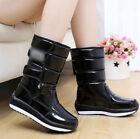 women 's high top boots warm cashmere Winter Snow Shoes boot Waterproof antiskid