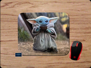 BABY YODA CUP DESK MAT MOUSE PAD HOME OFFICE GIFT STAR WARS THE MANDALORIAN