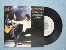 "MICHAEL JACKSON VINYLE SINGLE "" GIVE IN TO ME / DIRTY DIANA """