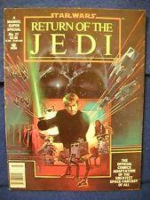 1983 Marvel Super Special Vol.1 No. 27 Star Wars Return of the Jedi Comic Book