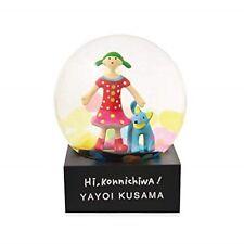 Yayoi Kusama Snow Dome Globe Hi,Konnichiwa Moma Design Store Limited Japan NEW