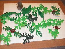 LEGO GREENERY PIECE LOT plants tree flower palm leaves bulk parts