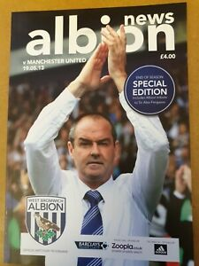 West Bromwich Albion V Manchester United 19th May 13 Sir Alex's Last Match
